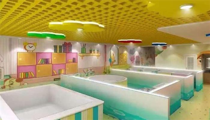 悅兒灣嬰兒游泳館池子