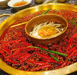 蜀莊火鍋美味