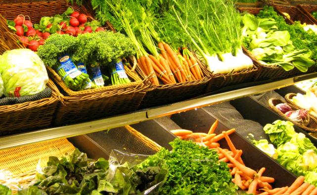 百联全球购蔬菜区