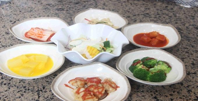 一松亭韩国料理展示