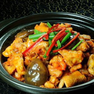 昊研黃燜雞米飯重辣