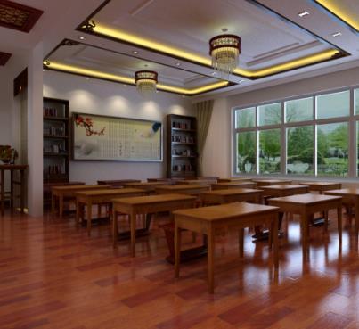 蘇興老師國學館教室