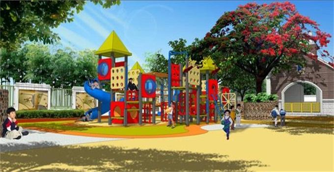 凯迪双语幼儿园玩耍区