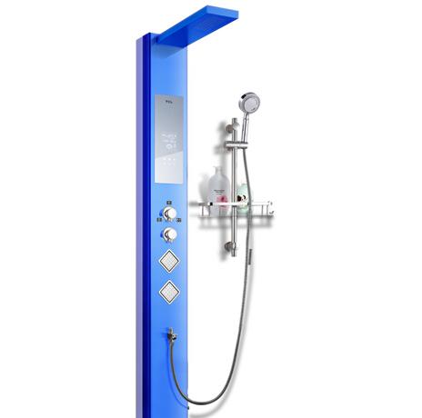 TCL集成热水器蓝色款