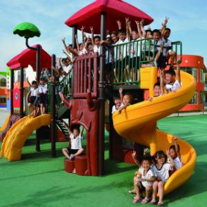 回龙观童学园幼儿园游乐区