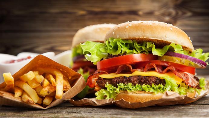 堡里乐汉堡好吃不贵