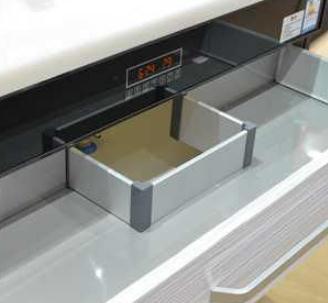 健民阳光电热水器抽屉式