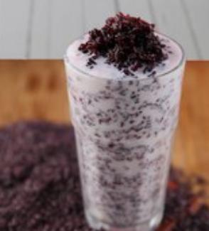 酸奶紫米露