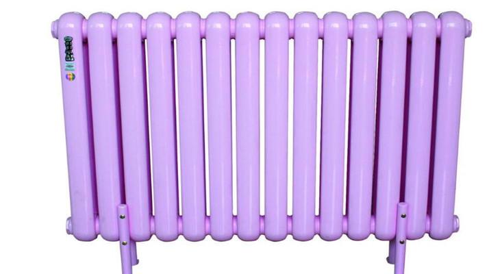 瓦薩齊暖氣片紫色