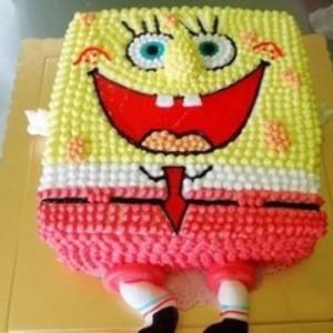 欧阳小姐烘焙海绵宝宝蛋糕