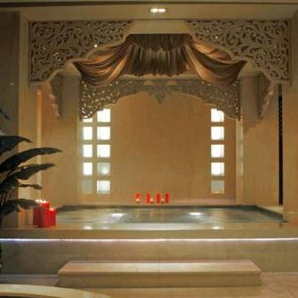 佰草集spa水疗室