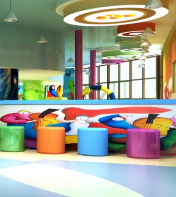 卡卡兔儿童游乐园休息区
