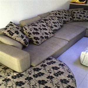 凯迪威布艺沙发家庭装