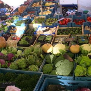 保真保佳生鲜超市蔬菜区