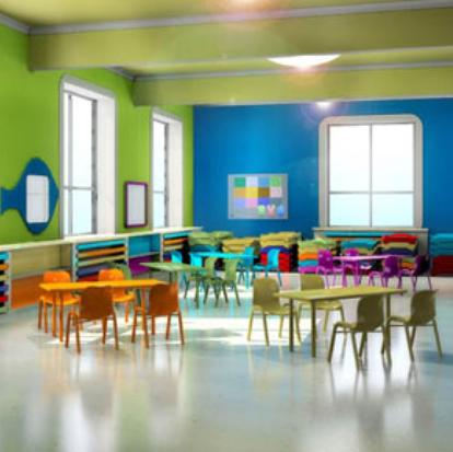 金匯實驗幼兒園休息區