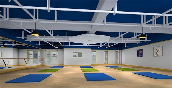 凯迪艺术培训中心瑜伽室