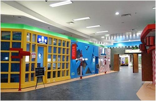 大未來兒童職業體驗館內部