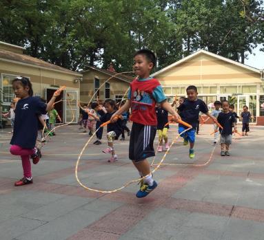 蓝岛双语幼儿园活动