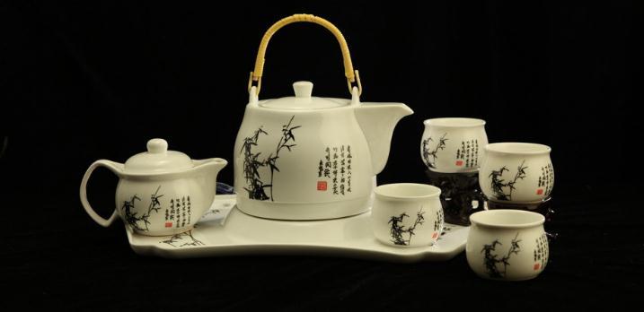 尚岩茶具青花瓷