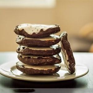 欧贝客烘焙坊黑巧克力饼干