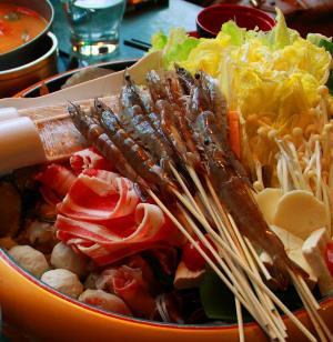 咕噜咕噜火锅店虾
