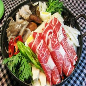 一松亭韩国料理食物