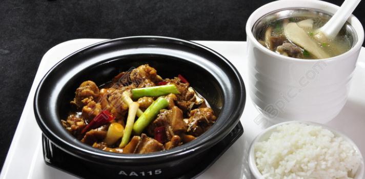 昊研黃燜雞米飯配餐