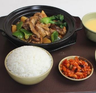 昊研黃燜雞米飯微辣
