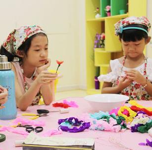 六月坡儿童职业体验馆手工制作
