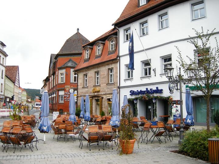 德国小镇外观