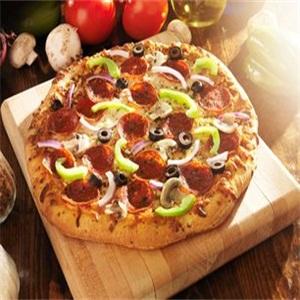 芝心乐披萨美食