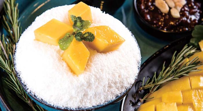 花开食客雪冰芒果口味