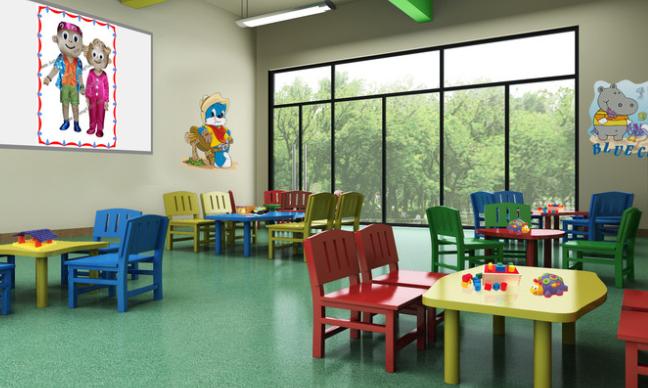 安喬國際雙語幼兒園教師環境