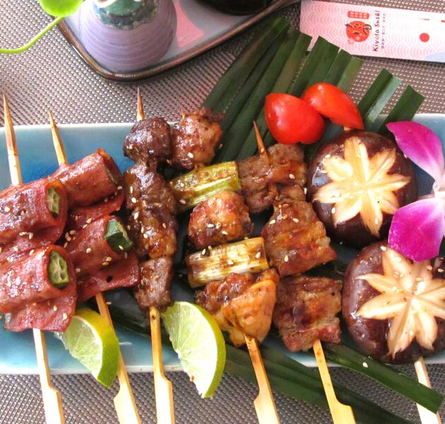 浜崎料理烤串