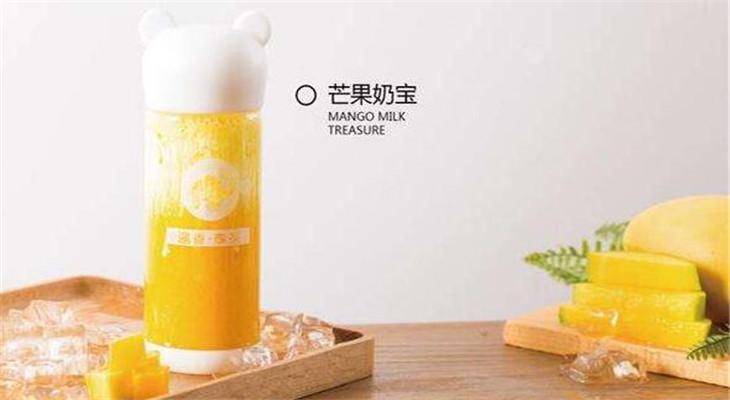 暹香泰茶芒果奶宝