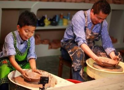 維泥陶藝兒童陶藝制作