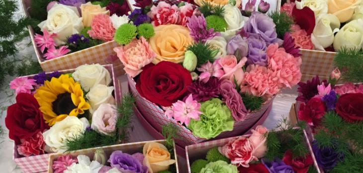 愛慕鮮花美麗