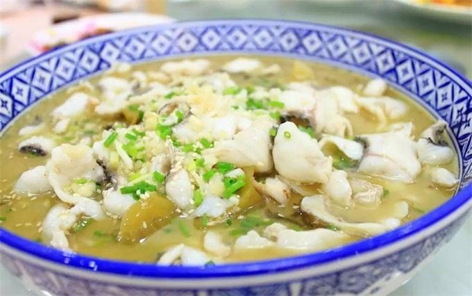 知鱼堂酸菜鱼菜品