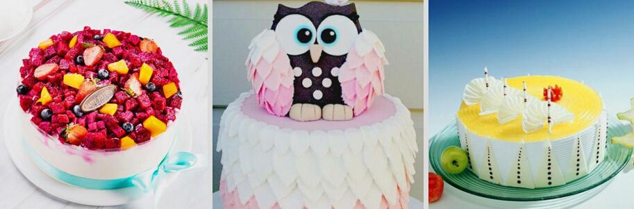 面包天使英式烘焙可爱蛋糕