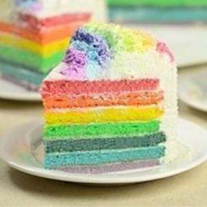 欧贝客烘焙坊彩虹蛋糕