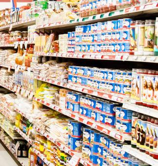 百联全球购食品区