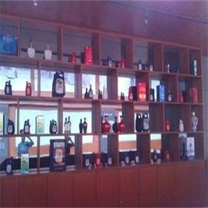 景芝酒酒柜展示