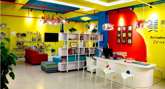 黃紅藍藝術學校教育