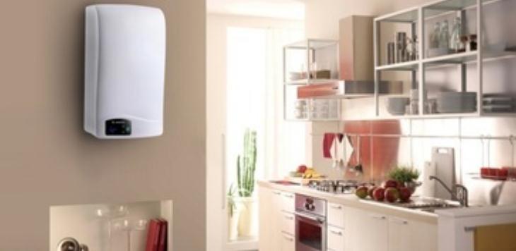 健民阳光电热水器环境