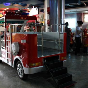 金魔方兒童職業體驗館消防車