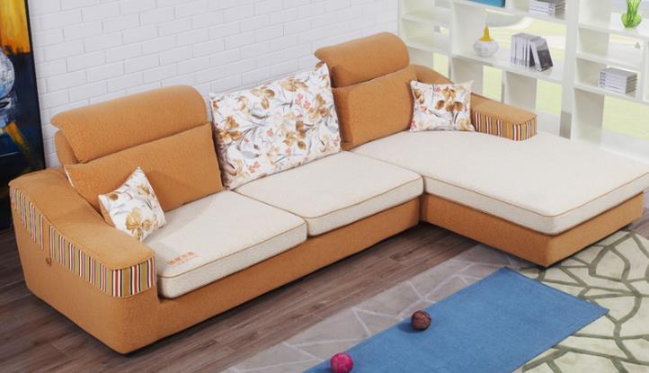 浪度布艺沙发概念图