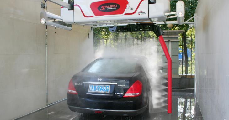 呱呱洗车洗车机