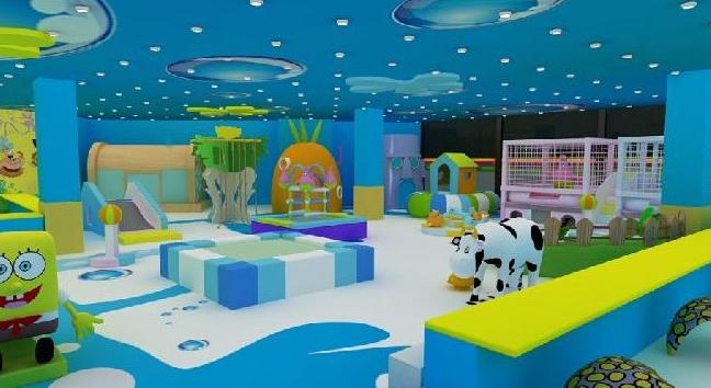 卡卡兔儿童游乐园室内环境