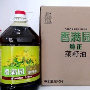 香滿園菜籽油禮盒