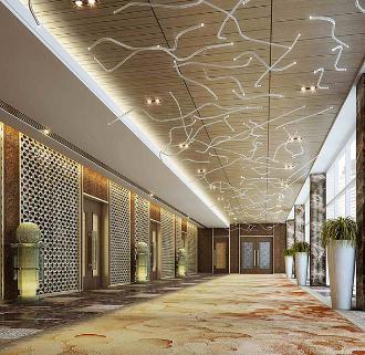 爱群大酒店走廊